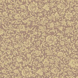 412-8 coffee back - gold pattern